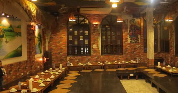 Nhà hàng Cỗ Lá 287 Trần Khát Chân món ăn 1