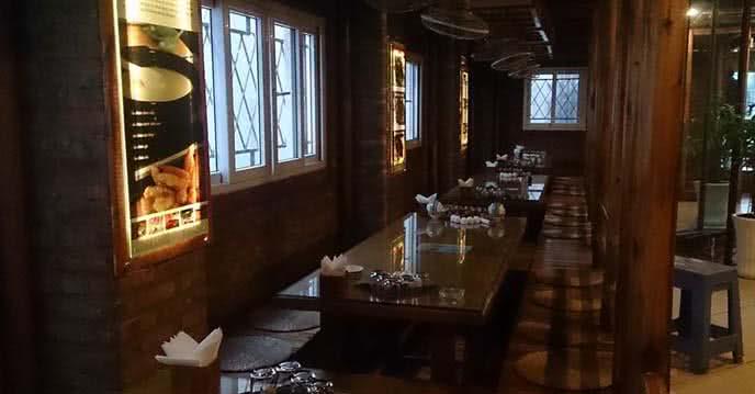 Top các nhà hàng chuyên đặc sản núi rừng tại Hà Nội 3