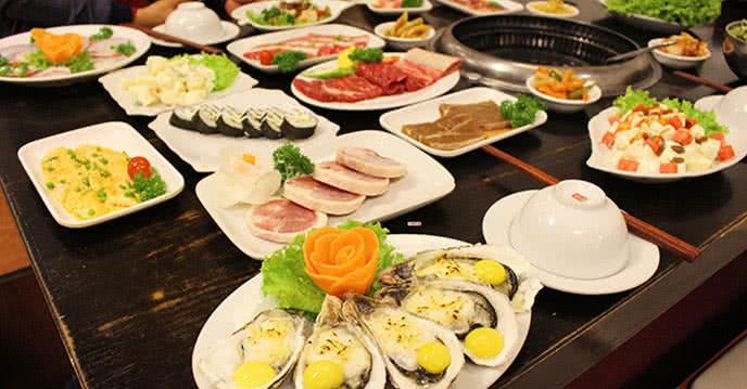 khám phá 60 món buffet đặc sắc tại đệ nhất nướng 2