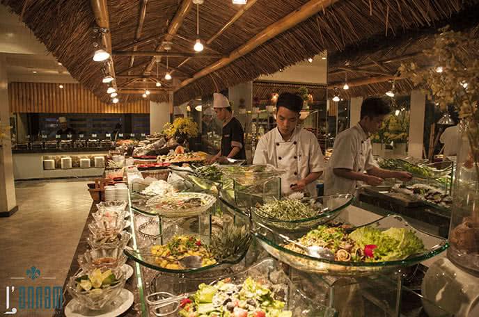 nhà hàng buffet ngon hà nội 6