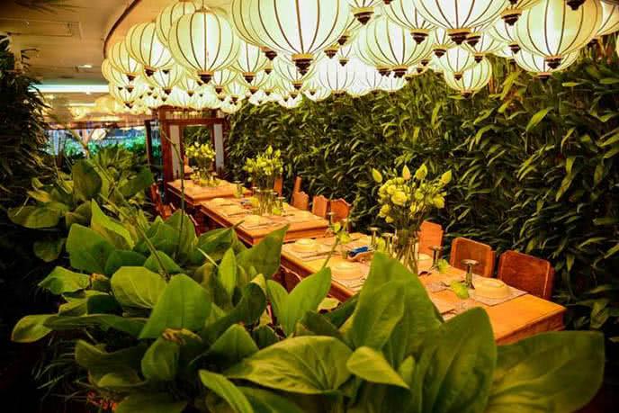 Những nhà hàng có không gian xanh 10