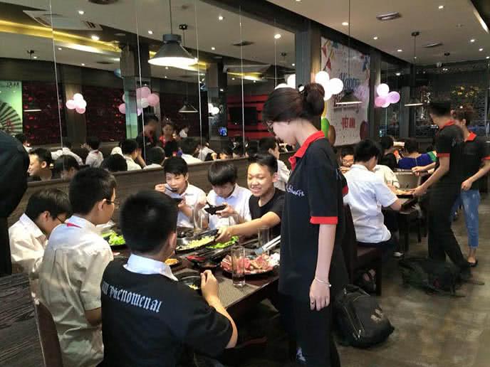 Buffet lẩu nướng nhà hàng Mishagi 1