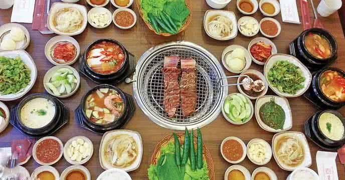 Tổng hợp các quán ăn Hàn Quốc cực kì ngon và rẻ ở Sài Gòn ảnh 1