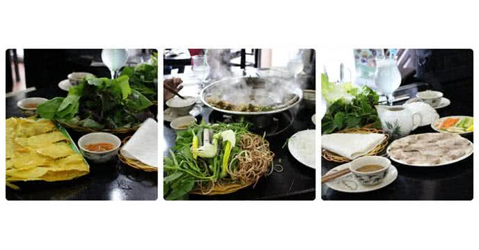 Nhà hàng Phương Nam 155 bùi thị xuân 69 chùa láng món ăn miền nam ảnh 1