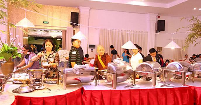 trải nghiệm buffet chay sang chảnh tại palace 3* 1