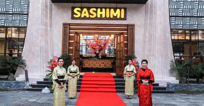 Nhà hàng Sashimi BBA Garden ảnh 1
