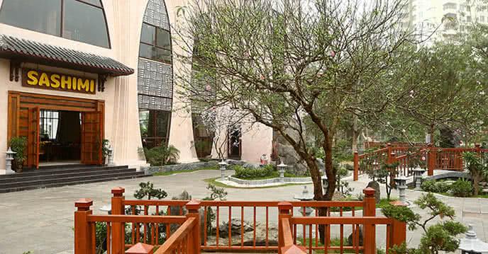 Nhà hàng Sashimi BBA Garden ảnh 2
