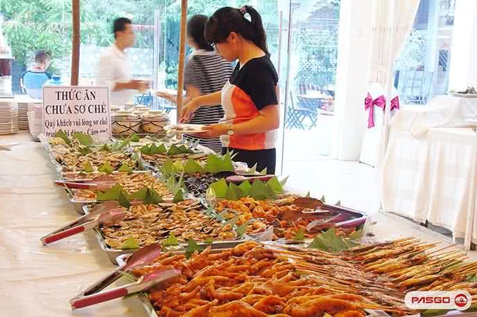 Top 10 nhà hàng ăn buffet trưa ngon nhất ở Tp HCM ảnh 1
