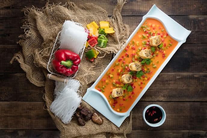 Top 10 nhà hàng chay ngon nổi tiếng, được yêu thích nhất ở Hà Nội ảnh 3