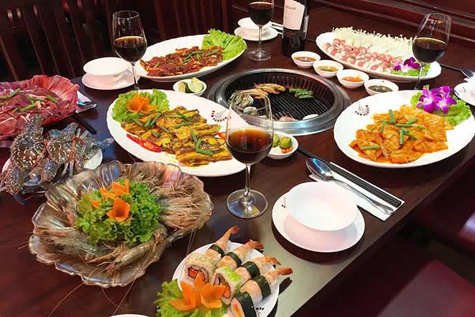 nhà hàng buffet ngon hà nội 5