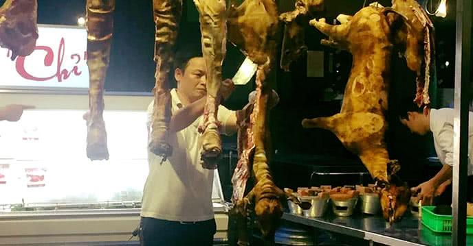 no nê với đủ món thịt dê chưa tới 200K tại tư trì 2
