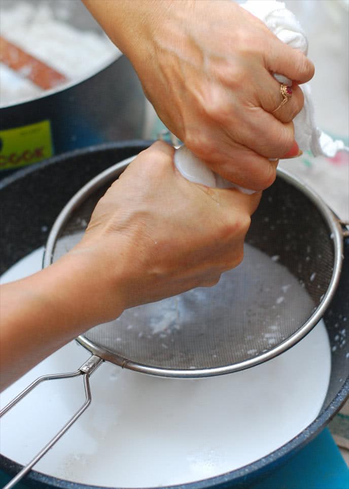 tự nấu dầu dừa bằng nồi cơm điện ảnh 2