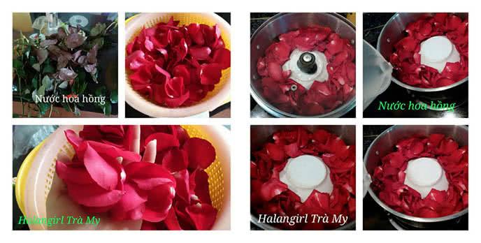 Tự làm nước hoa hồng tại nhà chỉ tốn vài chục nghìn ảnh 1