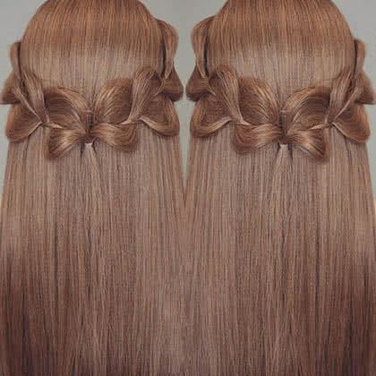 Hướng dẫn tết tóc 1