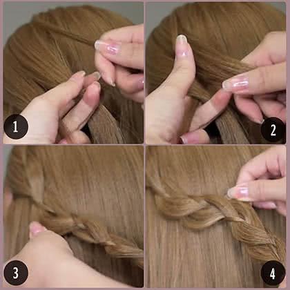 Hướng dẫn tết tóc 2