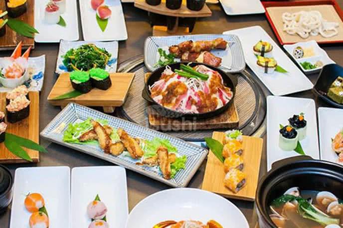 buffet sushi hà nội 2