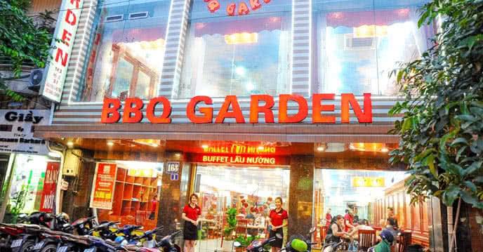 buffet lẩu nướng bbq garden 1