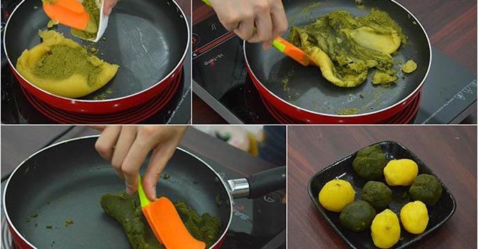 Cách làm bánh dẻo trà xanh 6