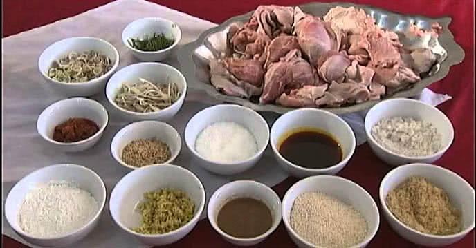 nguyên liêu chuẩn bị - Cách làm bê chao Mộc Châu