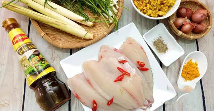 Cách làm cá nướng riềng mẻ 2