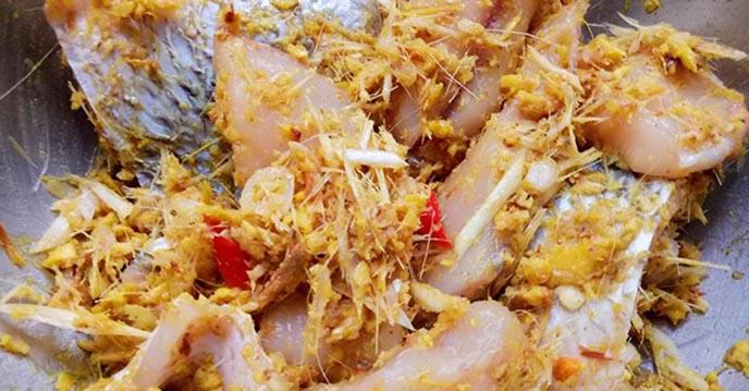 Cách làm cá nướng riềng mẻ 5