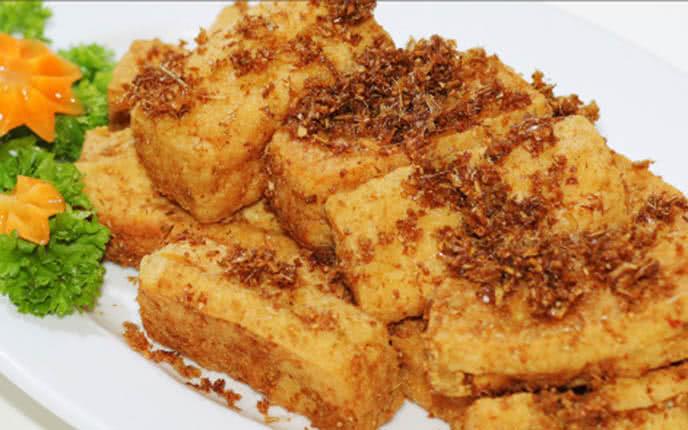 Cách làm đậu hũ chiên sả ớt - đậu hũ thuận phong 5