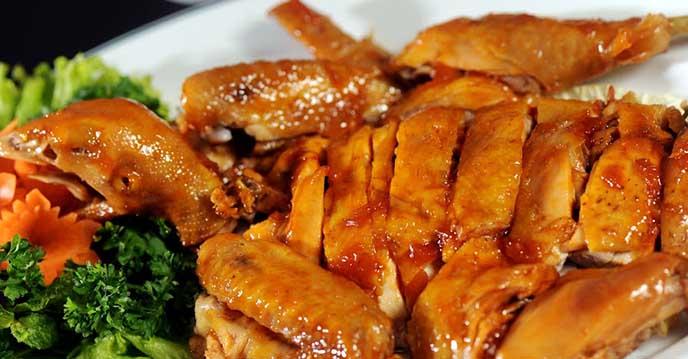 Cách làm gà hấp mắm nhĩ 6