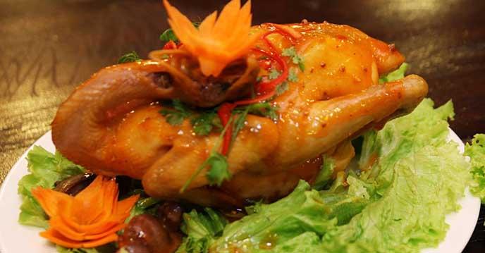 Cách làm gà hấp mắm nhĩ 7
