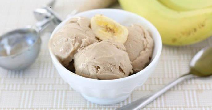 cách làm kem chuối kem chuối thành phẩm