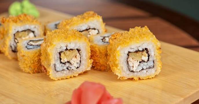 Cách làm sushi chiên giòn