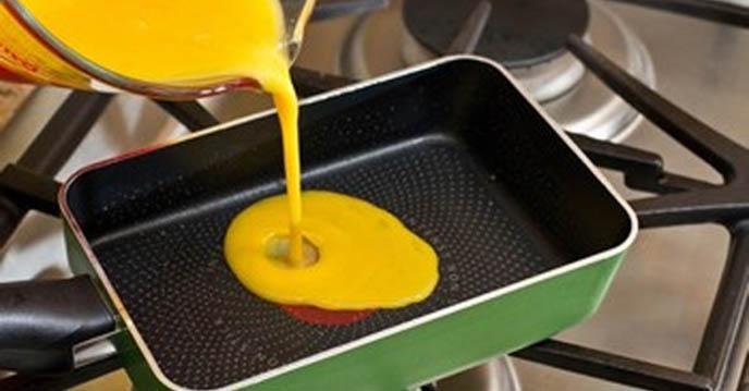 Cách làm trứng cuộn Nhật Bản - cuộn trứng