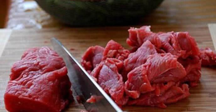 Thịt bò thái mỏng - Cách nấu cháo thịt bò