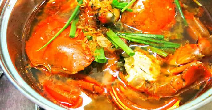 Cách nấu lẩu cua Cà Mau 1