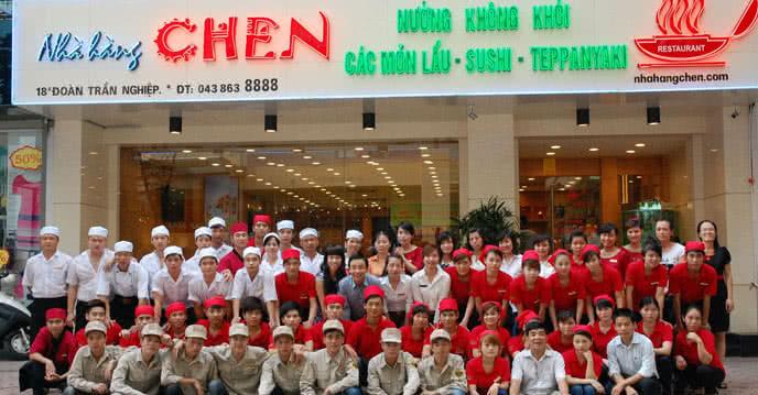 nhà hàng chen by namchen nhân viên 1