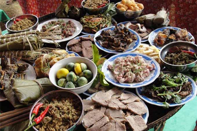 Độc đáo nét văn hóa ẩm thực dân tộc Mường ở Hòa Bình - 1
