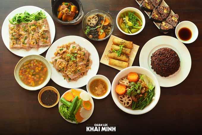 Top 5 nhà hàng chay ngon, nổi tiếng nhất ở Quận Bình Thạnh - 6