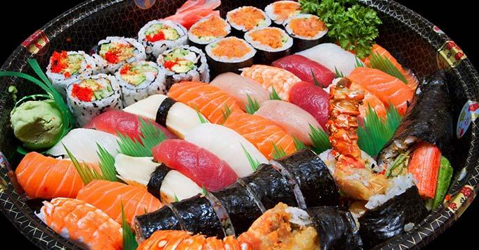 hướng dẫn ăn sushi đúng cách 1