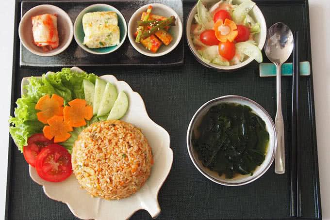 Kết quả hình ảnh cho Quán ăn trưa Kimchi Kimchi