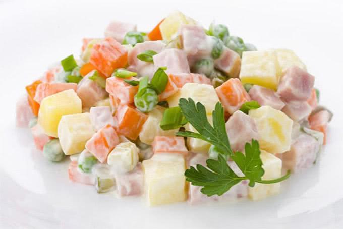 Kết quả hình ảnh cho Salad Nga