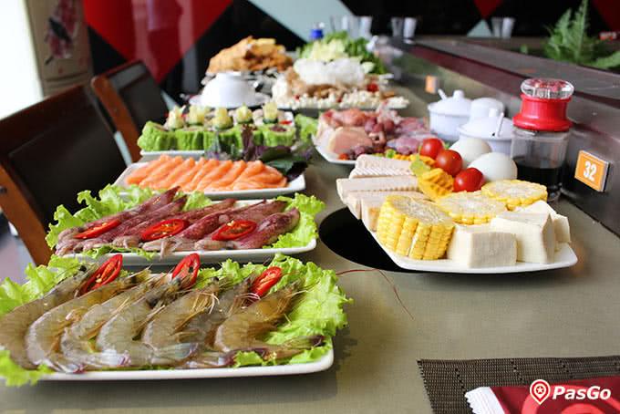 lẩu nấm muru 157 láng hạ món ăn 10