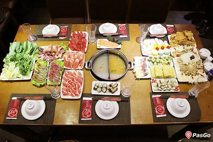 lẩu nấm muru 157 láng hạ món ăn 14