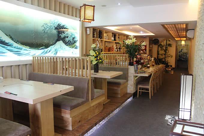 nhà hàng new sake đào tấn 14