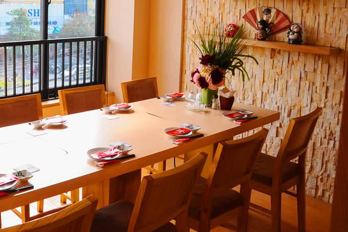 nhà hàng new sake đào tấn 15