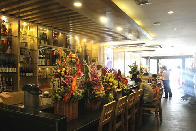 nhà hàng new sake đào tấn 19