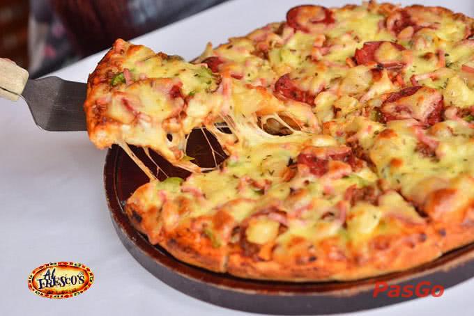 Không thể nào tới Al Fresco's Xuân Diệu mà chưa từng thưởng thức qua những chiếc Pizza mang đậm hương vị truyền thống Ý