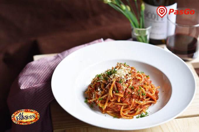 Đến với Al Fresco's Xuân Diệu, thực khách sẽ được dẫn vào thế giới hương vị mượt mà của những sợi mì Ý lâu đời