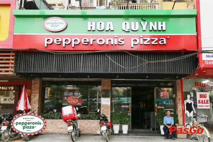 Mặt tiền pepperonis trần phú