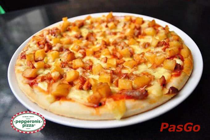 Những chiếc bánh Pizza hút mắt ngay từ cái nhìn đầu tiên - pepperonis giảng võ