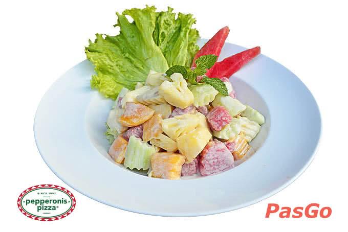 Salat trộn -  pepperonis giảng võ