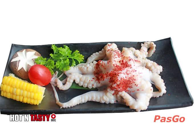 Râu bạch tuộc ướp hot n tasty 81 láng hạ